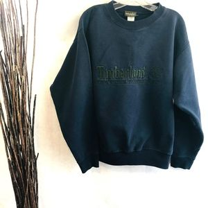 Mens Black Timberland Boots Stitched Sweater